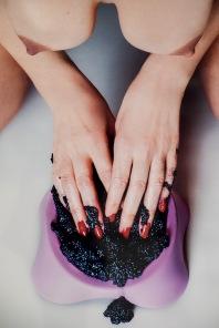 #studio57 #studio57gallery #DaianeSoares #foodporn #caviarnails #picture #art #photo #model
